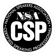 Certified Speaking Professional by National Speakers Association