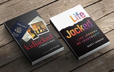 Books written by overcoming adversity keynote speaker Scott Lesnick