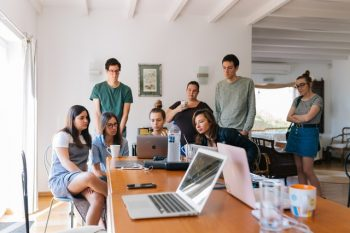 workplace leadership in the office